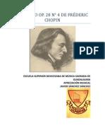 Preludio No 4 Chopin