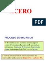 Produccion de Acero PARTE 1