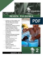 Revista Pulquimia No 2, Agosto 2013