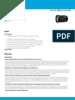 SELP18105G Spec Sheet 8-14-13