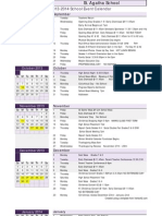 2013-2014 school calendar