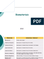 Aula 1 Biomateriais
