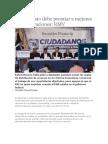 26-08-2013 Diario Matutino Cambio de Puebla - Presupuesto Debe Premiar a Mejores Administraciones RMV