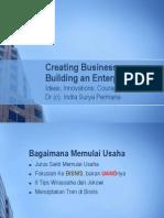 Building an Enterprise (Kewirausahaan)
