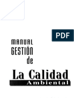 Manual de Gestion de La Calidad Ambiental - Raul Prando