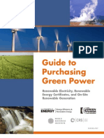 13.Purchase Green Power