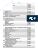Indice Especificaciones Invias 2007