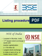 NSE BSE Listing
