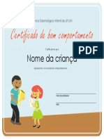 Certificado Clinica