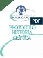 Protocolo Historia Clinica