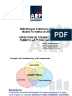 Implicaciones Pedagogicas Para El Modelo Por Competencias - 2013