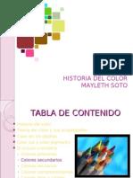 Presentacion Historia Del Color May Soto