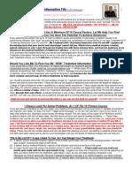 Noel Batten Treatment Information File