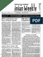 The Ukrainian Weekly 1982-02