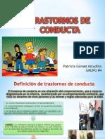Transtornos de Conducta Psiquiatria