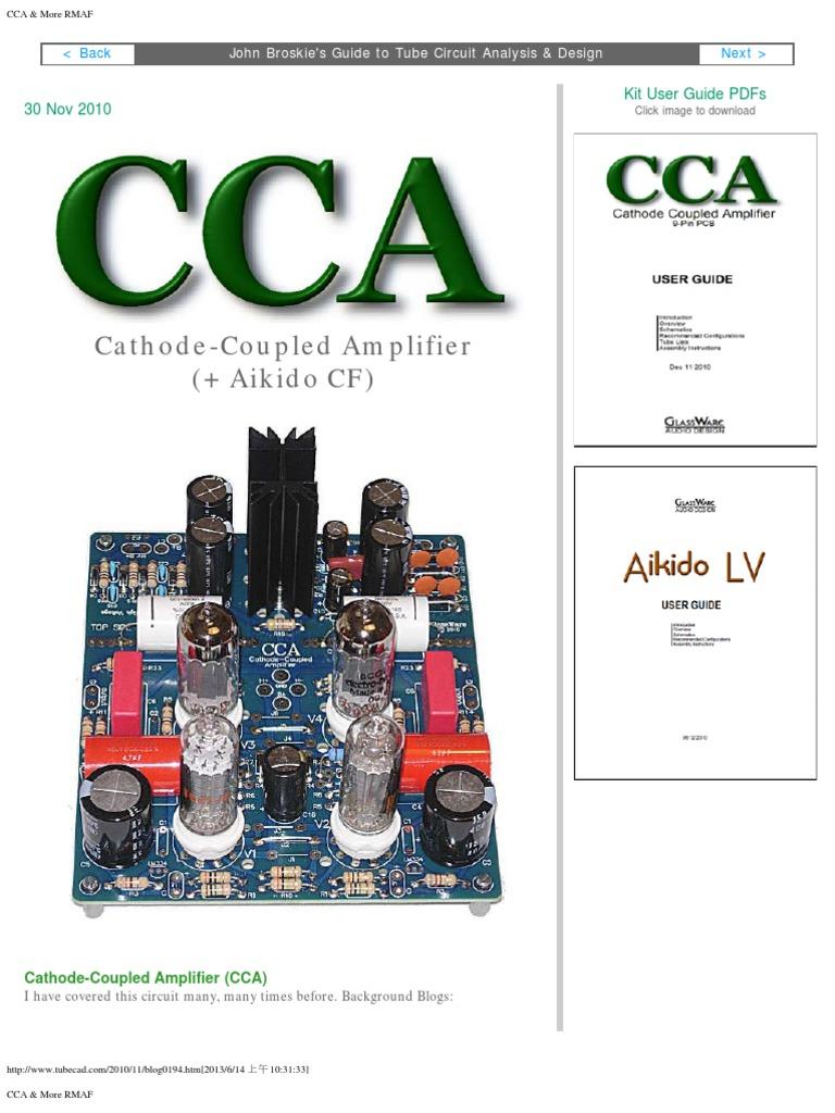 Cca & More Rmaf   Amplifier   Power Supply