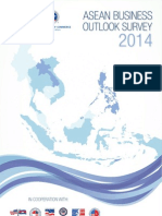 ASEAN Business Outlook Survey 2014 Results
