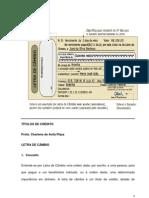 Unip - Letra de Cambio e Duplicata