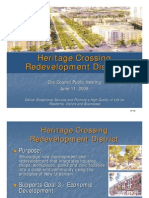Heritage Crossing Design Guidelines Presentation