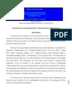 Introduction to Leonardo Polo's Philosophical Motivation