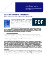 National ADA Center Fact Sheet 10 SpanishADA-Ctr-FactSheet-Parking