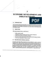 L-3 Economic Development and Indian Economy