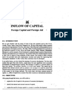L-36 Inflow of Capital ( Foreign Capital and Ofreign Aid )
