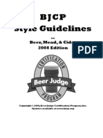 Beer Style Guidelines