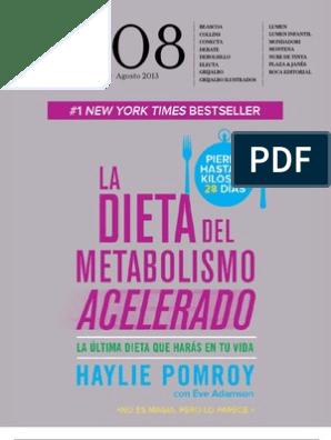 Dieta del metabolismo acelerado pdf descargar