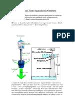Low Head Generator&Price (1)