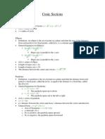 SAT II Math Level 2 Subject Test Notes