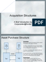Acquisition Structures