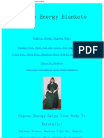 Orgonics Orgone Accumulators, Orgone Blankets and Products