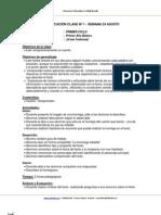 Planificacion Lenguaje 1basico Semana24 Agosto 2013