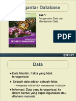 Bab 1 Pengenalan Data Dan Manajemen Data
