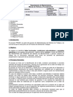 Demo Manual de Proceso Identificar Trabajos de Mantenimiento
