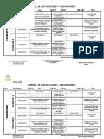 Cartel de Capacidades 2013