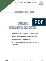 Control Organizacional - Contenido Semana 2