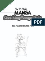 Sketching Manga Style Vol 1 Sketching to Plan