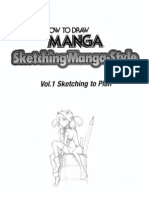 Sketching Manga Style Vol 1 Sketching to Plan