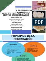 Preparacion Dentaria y Postes en Dientes Endo Retauradora