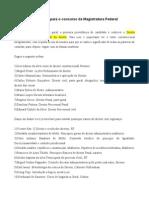 Bibliografia Sugerida Magistratura