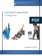 Daily Equity News Letter 27 Aug 2013