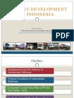 Railway Development in Indonesia