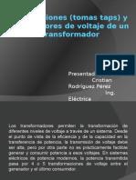 Derivaciones (Tomas Taps) y Reguladores de.pptx Cristian