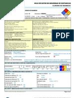 Cloruro de Magnesio -----Hds Formato 13 Secciones, Qmax