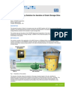 WEG Cocari Energy Efficiency Solution for Aeration of Grain Storage Silos Case Study English