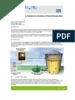 WEG Cocari Energy Efficiency Solution for Aeration of Grain Storage Silos Case Study English