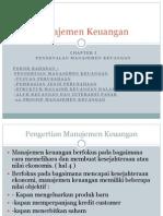 Manajemen Keuangan I