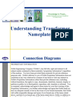 Understanding Transformer Nameplates DOBLE